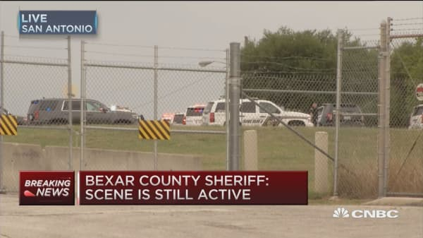 Sheriff: Two dead in Lackland AFB shooting