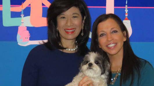 GrameenAmerica ceo Andrea Jung. And Women's Entrepreneurship Day Founder Wendy Diamond