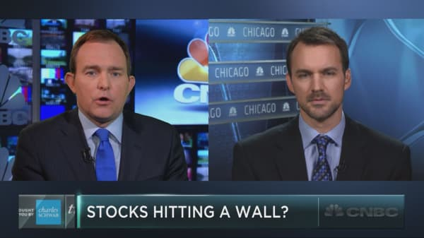 Global markets hitting a wall?