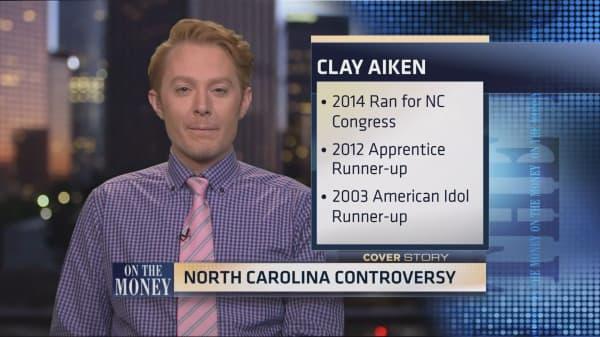 Clay aiken's voice on politics