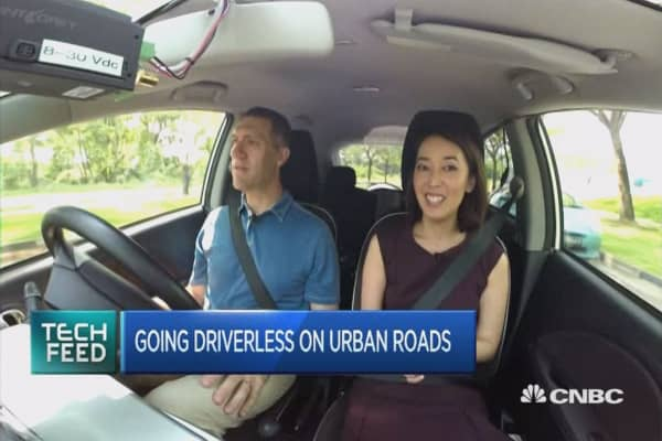Driverless Cars PKG