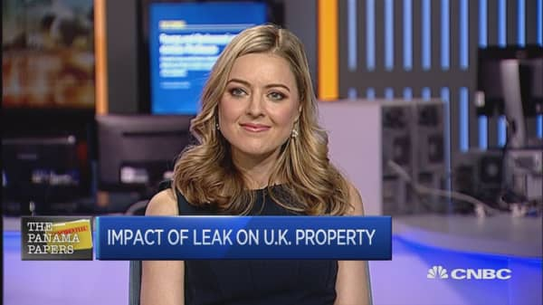 London property owners named in Panama Papers