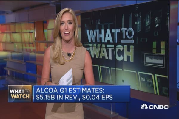 Three things to watch in Alcoa's earnings