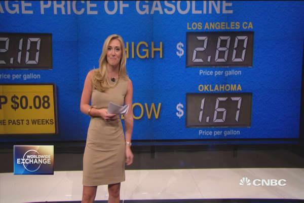 Gas prices jump ahead of peak summer driving season
