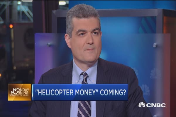 Japan's 'helicopter money' to the rescue?