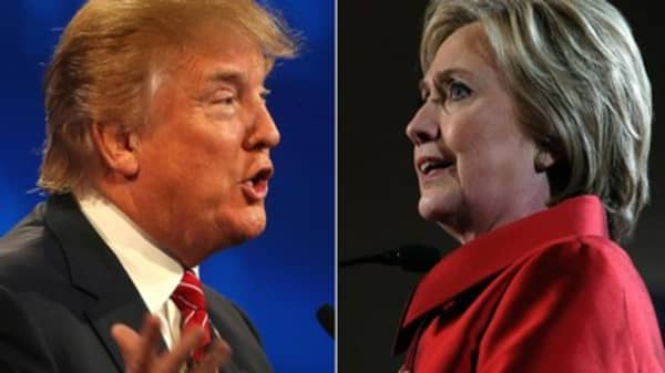 Presidential candidates battle for Empire State