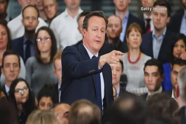 UK's Cameron announces new tax evasion law