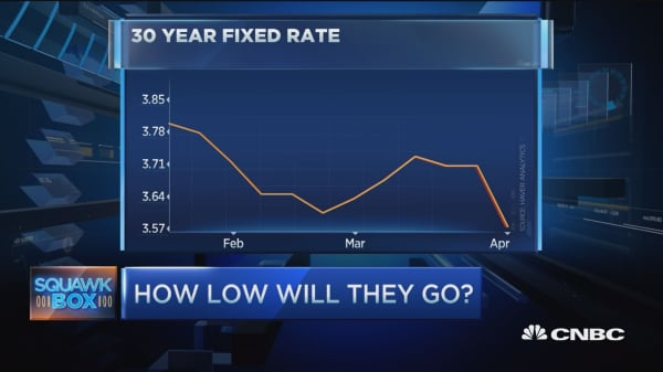 Mortgage rates take unexpected dip lower