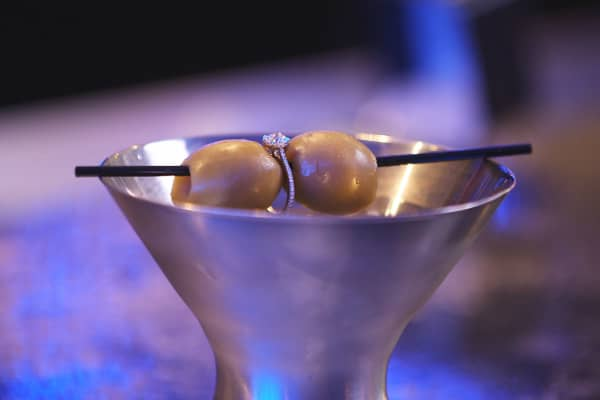 Martini with ring