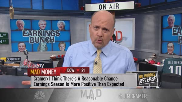 Cramer: Bernie Sanders ruining earnings season