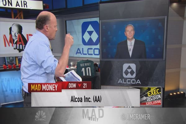 Alcoa CEO to Cramer: What really happened with earnings