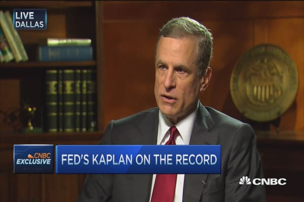 Fed's Kaplan: Consumer will remain strong