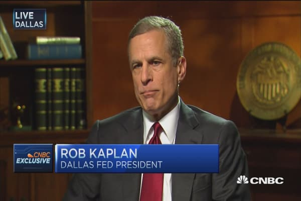 Too big to fail not our biggest issue: Fed's Kaplan