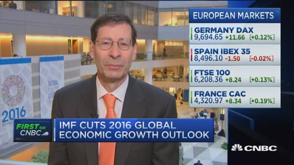 IMF: Global growth modest 3.2% in 2016