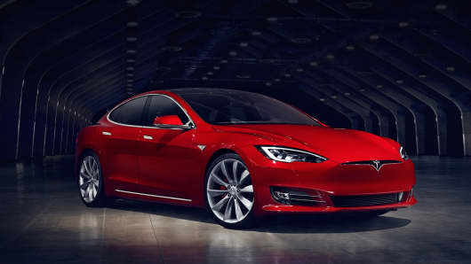 Tesla Model S redesigned and updated.