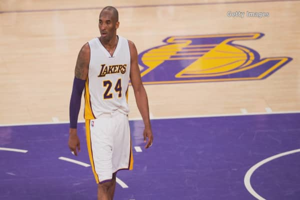 Lakers ticket prices soar for Kobe Bryant's final game