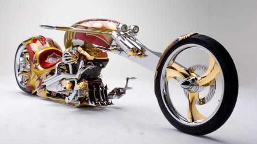 Sam Nehme's Nehmesis motorcycle
