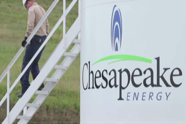 Chesapeake stock rises to continue rally