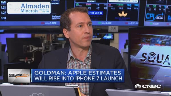 Goldman bullish on Apple