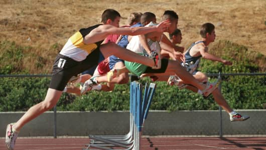 runners hurdles