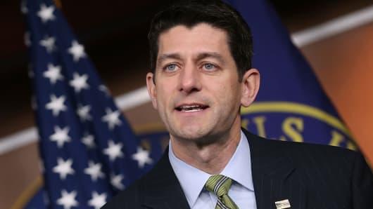 Speaker of the House Paul Ryan. R-Wis.
