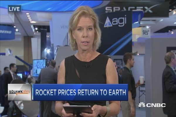 Rocket prices return to Earth