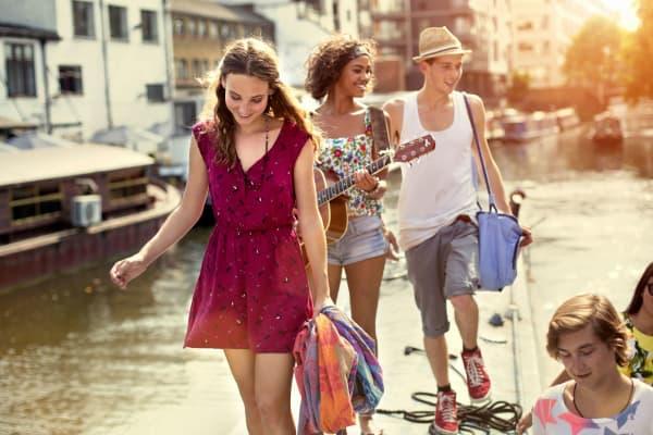 Millennial tourists