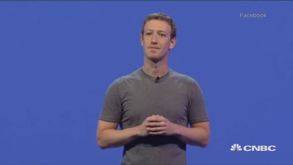 Zuckerberg: 'Instead of building walls, we can help people build bridges'