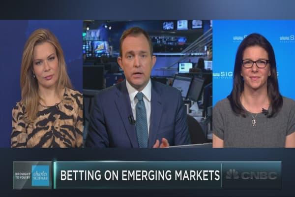 Money flows into emerging markets