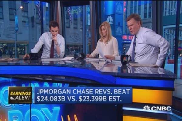 JPM revenue sees YOY decline