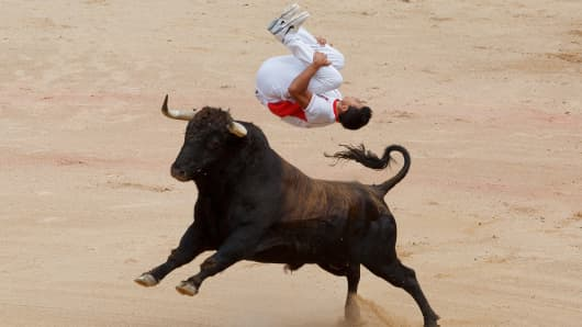 Bull market bounce jump
