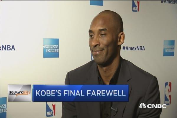 Kobe's final farewell