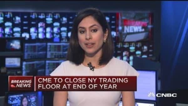 CME to close NY trading floor