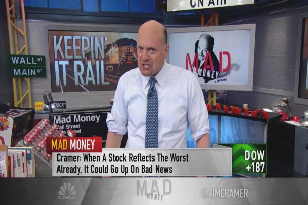 Cramer: Huge earnings swings could be coming