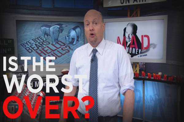 Cramer Remix: Is the worst over?