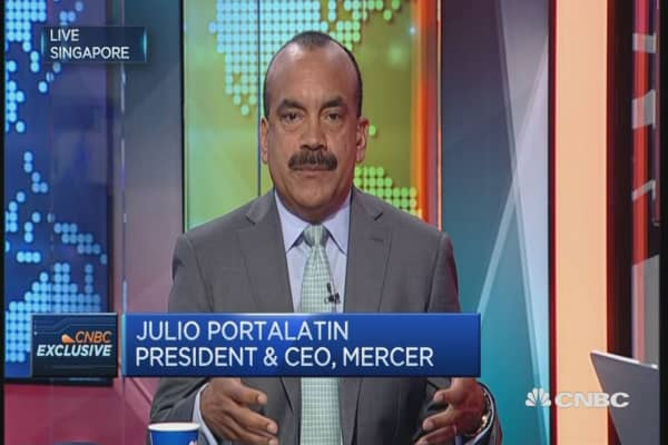 CNBC Exclusive: Mercer CEO