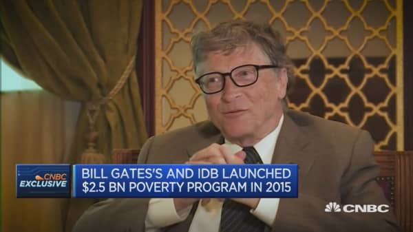 It's hard to move away from oil: Bill Gates