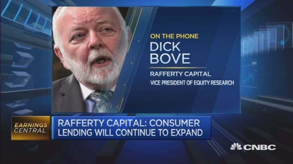 Traditional US banking business doing really well: Bove