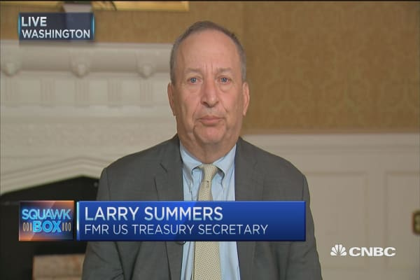 Larry Summers: Damage of repressed deficits