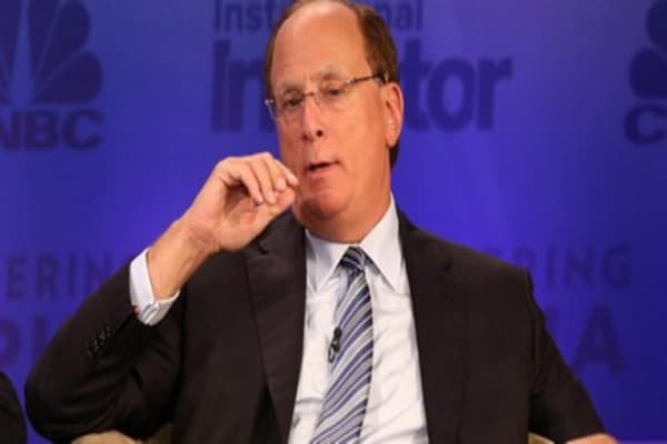 BlackRock's Fink: This is 'biggest crisis' in the world