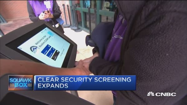 CLEAR expanding security screening