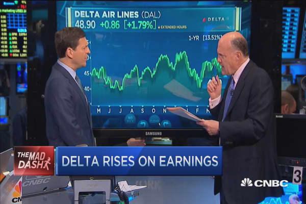 Cramer's Mad Dash: Delta Air Lines