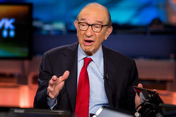 Alan Greenspan, former Federal Reserve chairman.