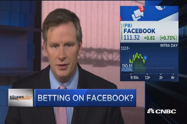 Betting on Facebook