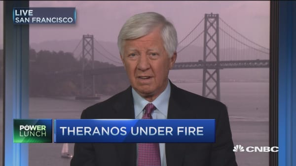 Theranos founder didn't do her homework: Bill George