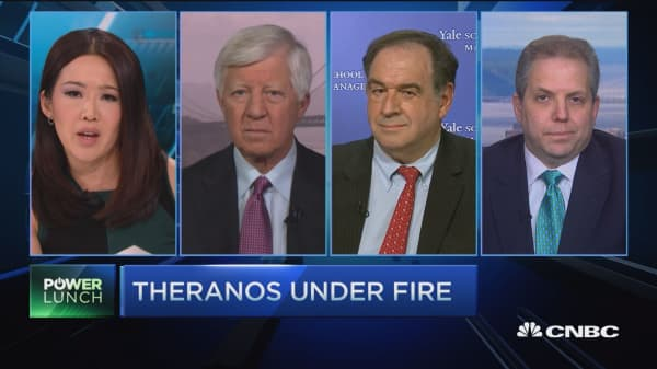 Theranos under fire