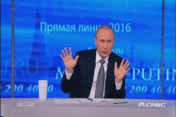 Putin: Blame Goldman Sachs for Panama Papers