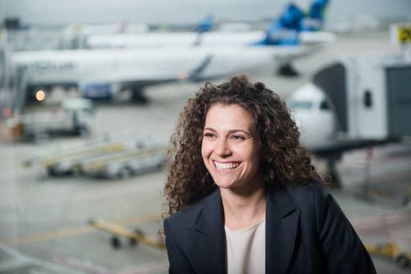 Sophia Mendelsohn, head of sustainability for JetBlue