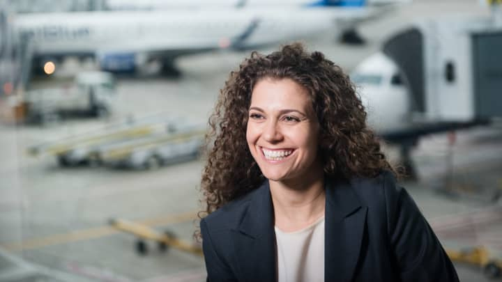 Sophia Mendelsohn, head of sustainability for JetBlue