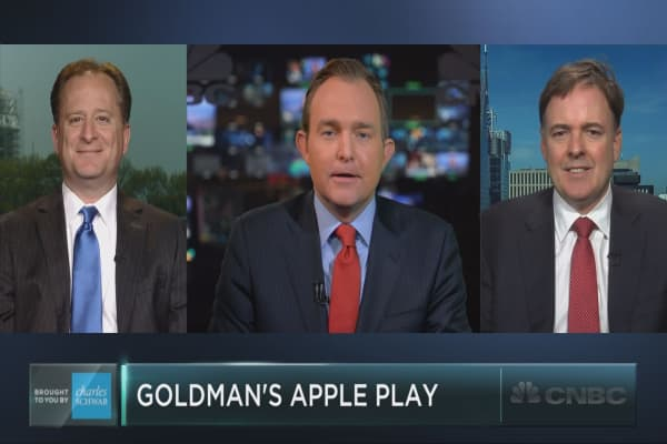 Goldman's Apple trade